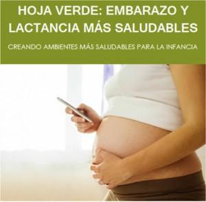 Apicación móvil de salud para embarazadas y madres lactantes