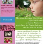 Recomendaciones dietéticas, ejercicio físico y medio ambiente para las supervivientes de cáncer de mama
